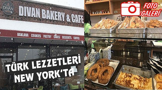 New York Divan Bakery'de Türk Simidi