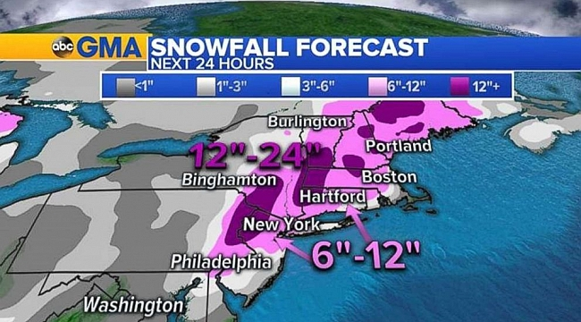 East Coast bracing for 2nd nor'easter in a week