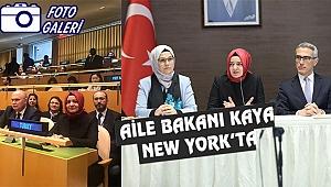 Fatma Betül Saya Kaya New York'ta
