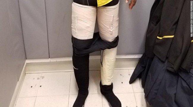 Fly Jamaica çalışanı böyle yakalandı