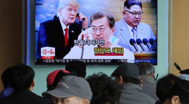 Güney Kore, ABD'ye Kuzey'in mesajını götürecek