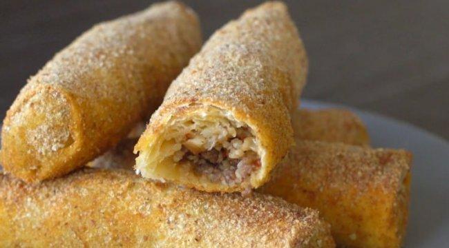 Klasik börek tariflerine farklı ve cezbedici alternatif: İçli Börek tarifi...