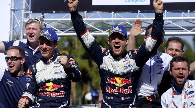 Meksika'da kazanan Sebastien Ogier