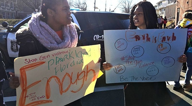 National school walkout day: Thousands of students protest in N.J.