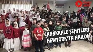 New York'ta Çanakkale Şehitleri Anıldı