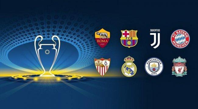 Şampiyonlar Ligi'nde dev eşleşmeler