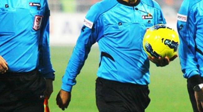Spor Toto 1. Lig 26. hafta hakemleri açıklandı