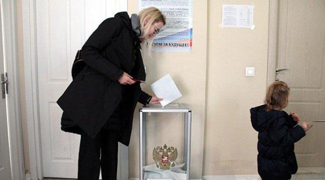 Türkiye'deki Rusya vatandaşları sandık başında