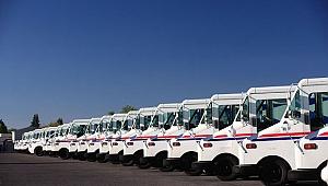 USPS'nin Yeni Araçları Türkiye'den