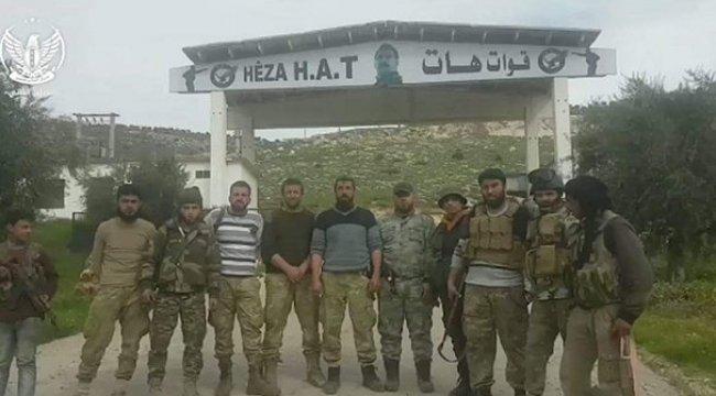 YPG/PKK'nın HAT'ı ÖSO'un önünde kaçtı