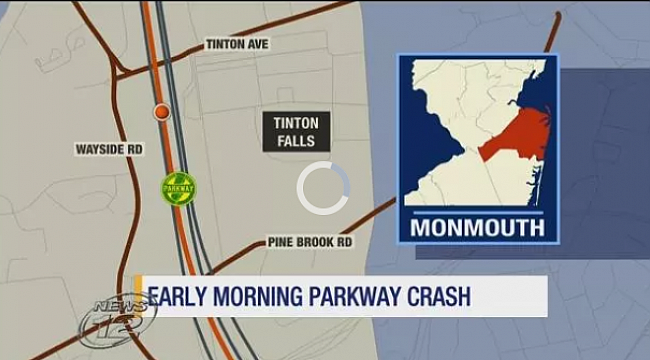 1 dead following Parkway crash in Tinton Falls
