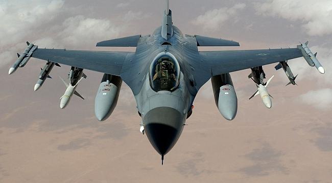 ABD'de F16 Uçağı Düştü