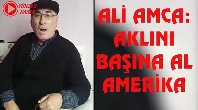 Ali Amca'nın Sosyal Medya'yı Sallayan ABD Şiiri