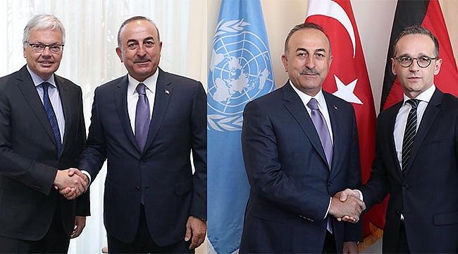 Bakan Mevlüt Çavuşoğlu'ndan ikili Temaslar
