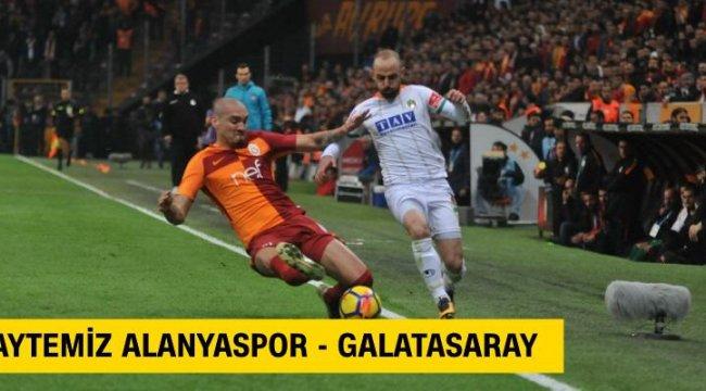 Canlı: Alanyaspor-Galatasaray maçı