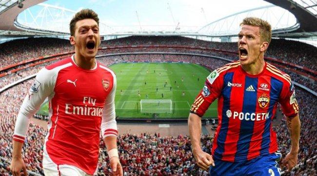 Canlı: Arsenal-CSKA Moskova maçı