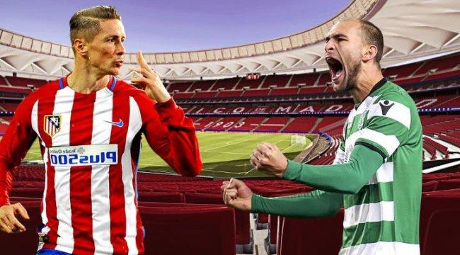 Canlı: Atletico Madrid-Sporting Lizbon maçı