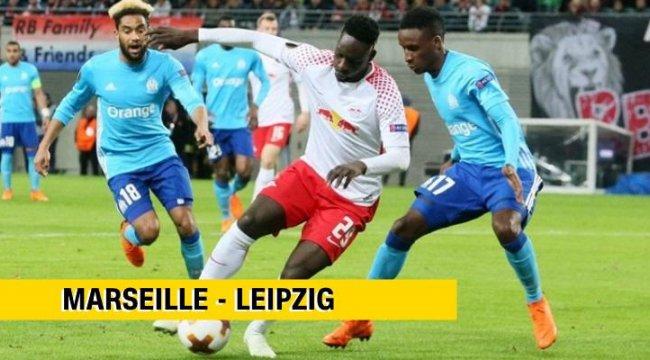 Canlı: Marsilya-Leipzig maçı izle