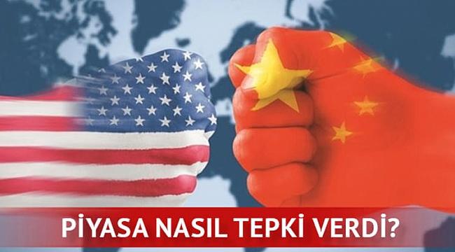 Çin ABD'ye Kılıcı Çekti