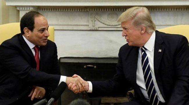 Donald Trump'tan Sisi'ye tebrik telefonu