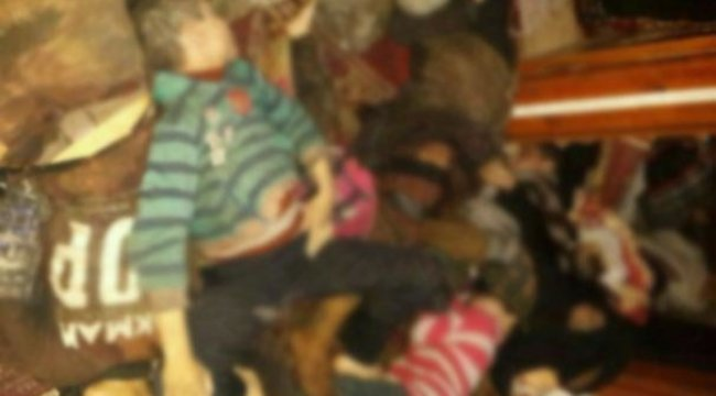 Esed rejimi kimyasal saldırı düzenledi! 75 ölü 1000'den fazla yaralı