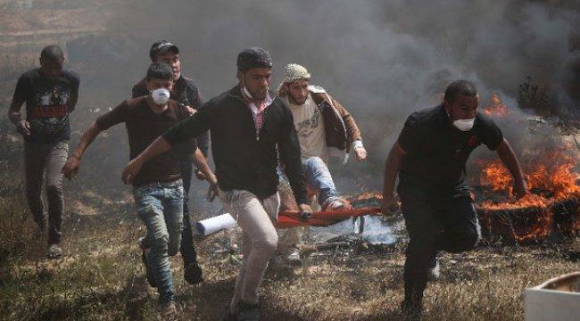 Gazze'de gerginlik: 113 yaralı