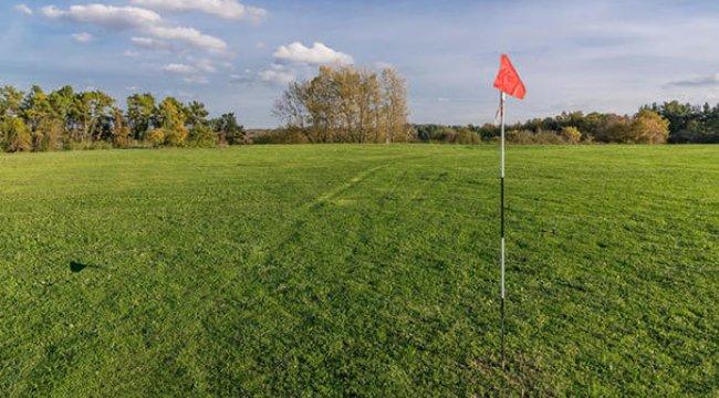 Golf sahasında büyük sürpriz!