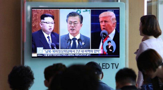 Güney ve Kuzey Kore liderleri arasında kırmızı telefon hattı kuruldu