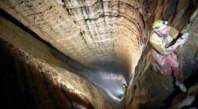 İlk kez görüntülendi! İşte dünyanın en derin mağarası