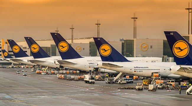 Lufthansa yarınki 800 uçuşu iptal etti