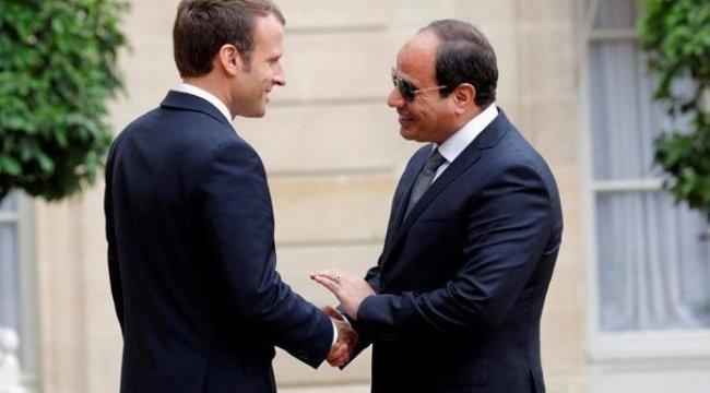 Macron'dan Sisi'ye Suriye telefonu