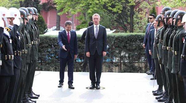 NATO Genel Sekreteri Jens Stoltenberg Türkiye'de