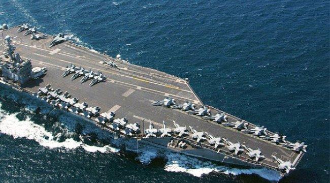 Savaş kapıda! ABD uçak gemisi Akdeniz'e geliyor