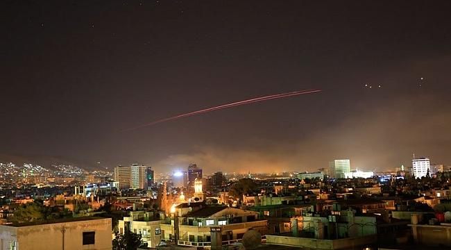 Suriye'ye Hava Saldırısı VIDEO