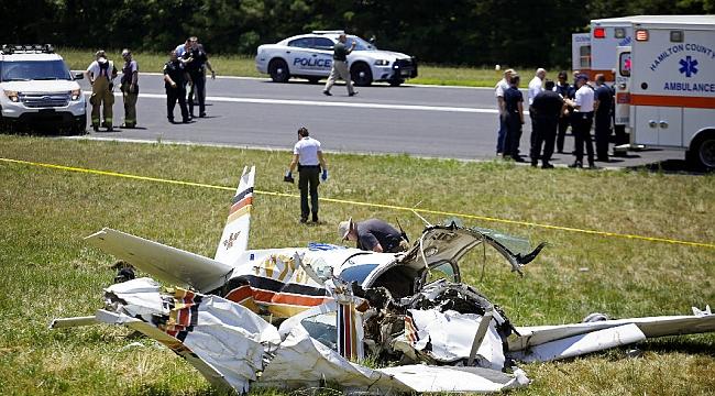 Tennessee'de Uçak Düştü Pilot Öldü