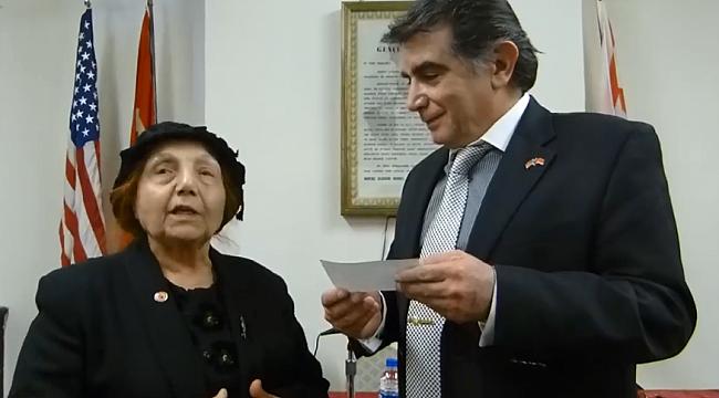 Türk Gününe İlk Bağış Şevkiye Teyzeden