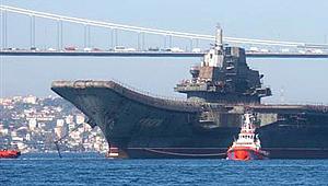 Ukrayna, Çin'e arızalı uçak gemisi satmış