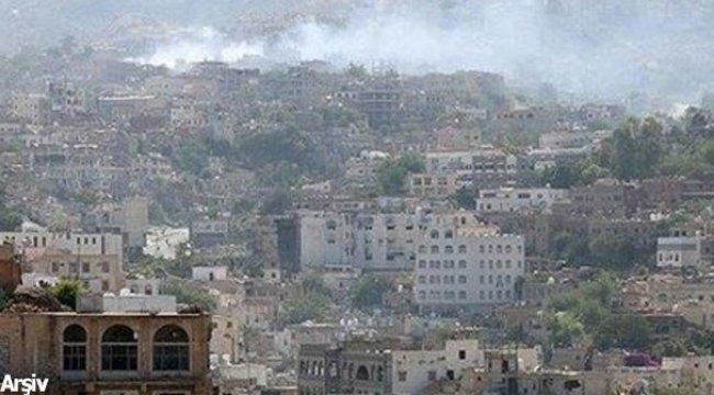 Yemen'de Husilere ait mevzilere saldırı