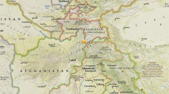 6.2'lik deprem, sekiz ülkede hissedildi