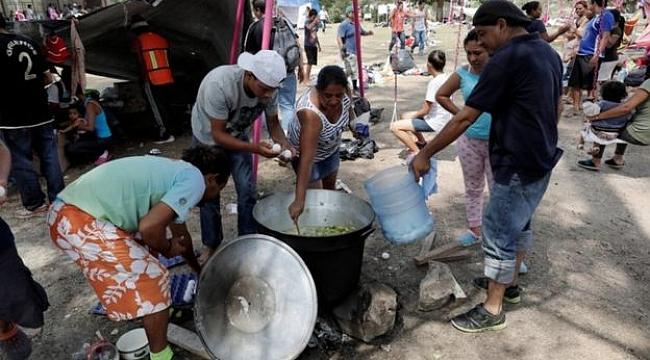 ABD, 3000 Km öteden gelen Mültecileri Almadı