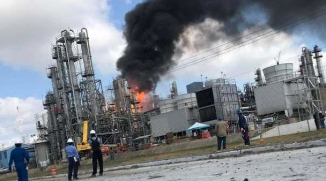 ABD'de kimyasal üretim yapan fabrikada patlama