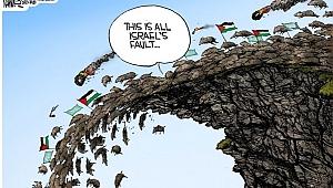 ABD'li Karikatüristten İğrenç Karikatür