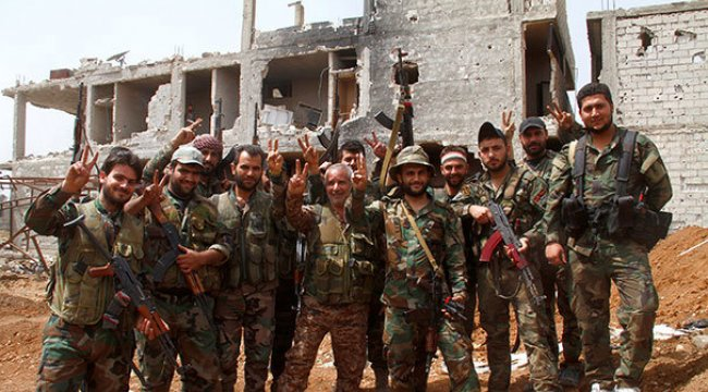 Başkent Şam tümüyle Esed rejiminin kontrolüne girdi