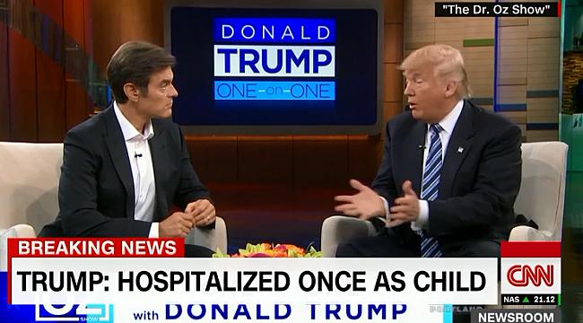 Dr.Oz Trump'ın Ekibine Katıldı