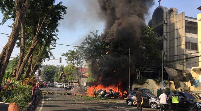 Endonezya'daki saldırıları DAEŞ üstlendi!