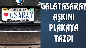 Galatasaray Sevgisi Plakada