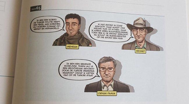 Hollanda'da ders kitabında Türkiye'yi kötüleyen ifadeler