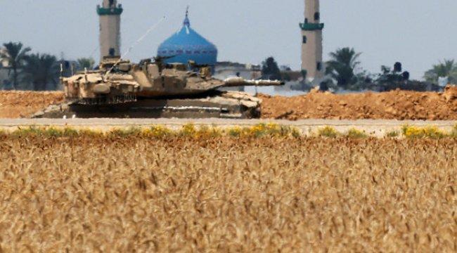 İsrail tanklarla vurdu!