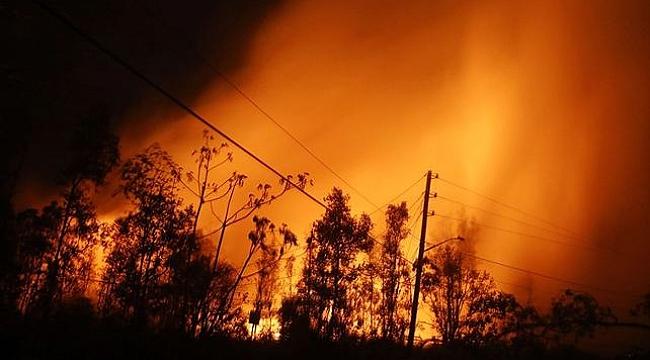 Kilauea Yanardağı yine patladı