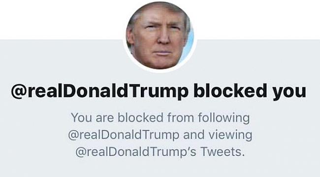 Mahkeme: Başkan Twitter'da kimseyi bloklayamaz